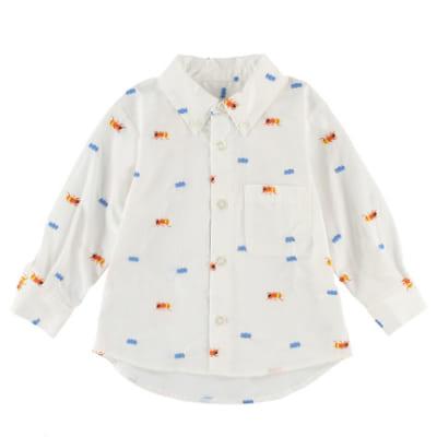 インセクトコレクション 【再販アリません】総柄刺繍シャツ【ありさん】