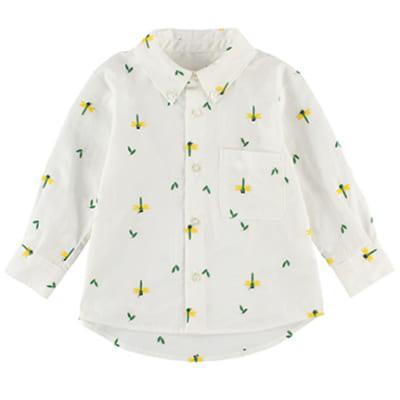 インセクトコレクション 総柄刺繍シャツ【とんぼさん】