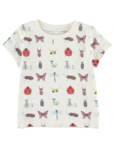 昆虫大集合Tシャツ キッズ
