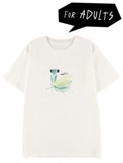 大人もかまきりくんプリントTシャツ