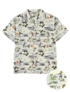 昆虫集合アロハシャツ