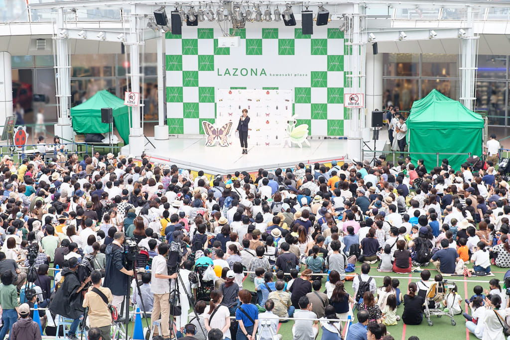 インセクトコレクション プロデューサー香川照之昆虫トークステージ レポート