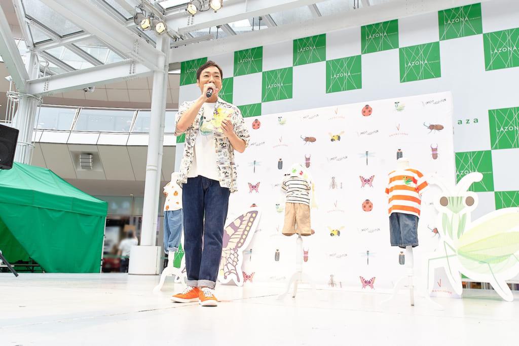インセクトコレクション プロデューサー香川照之昆虫トークステージ レポート8