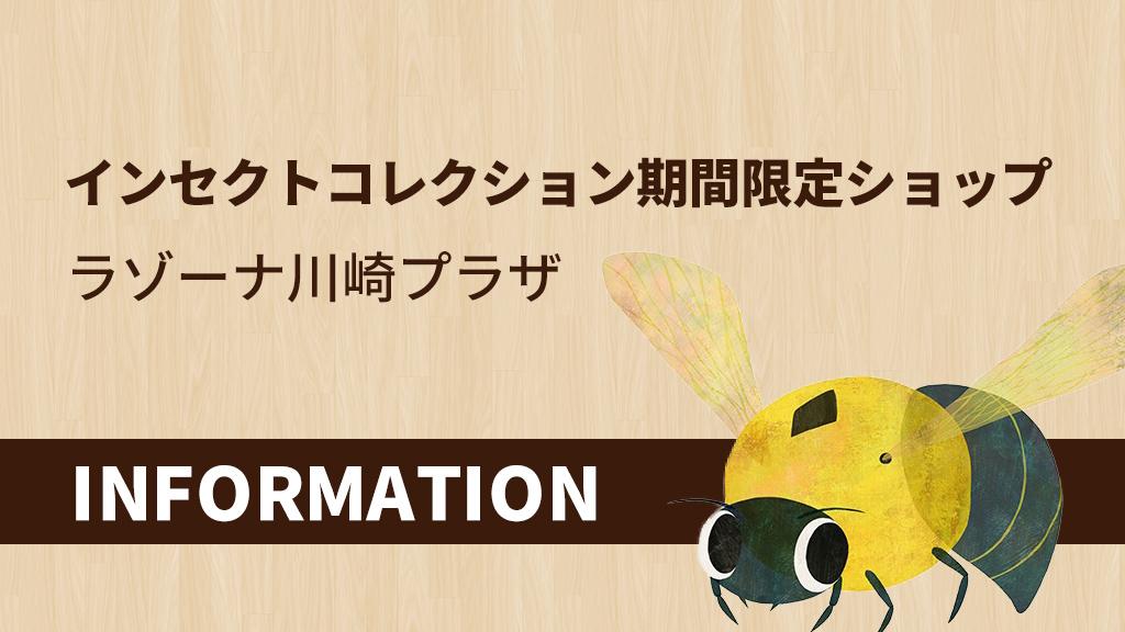 ラゾーナ川崎プラザ 昆虫トークイベント情報