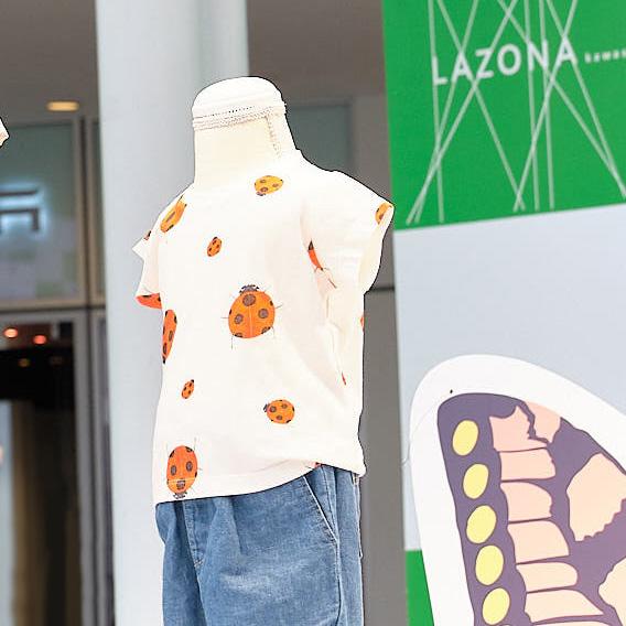 インセクトコレクション プロデューサー香川照之昆虫トークステージ レポート てんとうむしランダムドットTシャツ