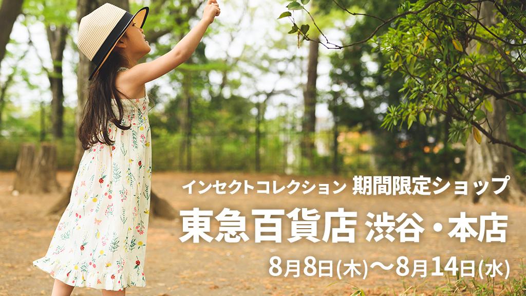 インセクトコレクション 東急百貨店 渋谷・本店 期間限定ショップ